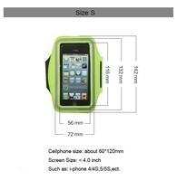 Case with Key Holder and Headphone Jack for iPhone 5 Mobile Phone Sport Armband Case