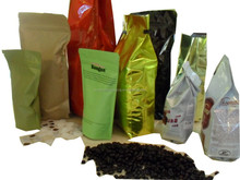 coffee bean bag with one-way valve/coffee packaging bag wholesale