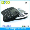 92 full keys wireless Keyboard for game with Touchpad,air mouse keyboard i8
