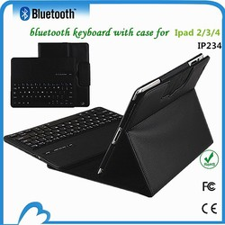 Best price bluetooth leather tablet case for ipad case 2