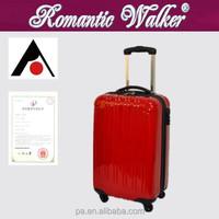 China manufacture hardshell luggage wheel polo trolley luggage