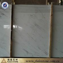 Polished hemus white marble