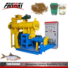 We type automatic CE approved extruders for fish food/fish food extruders for sale