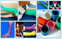 first aid bandages medical dacron polyester or fiberglass casting tape