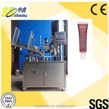 Hot Sale Plastic & Aluminium Nail Polish/lip gloss Tube Filling Sealing Machine with Siemens Touchscreen Festo Omron Components