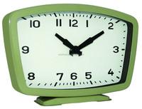 Bedside clock quartz table clock rectangle shape