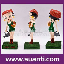 New products betty boop garden theme statue decoration chrismas gift wholesale