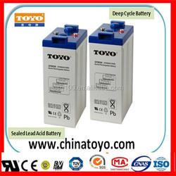 VRLA 2v Battery Deep Cycle Telecom Battery UPS 2V500AH Battery