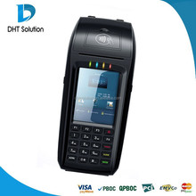 Mobile payment terminal,handheld pos,3G,WIFI,Camera,Barcode,QR Code,fingerprint(DTPOS396)