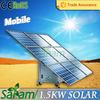 Innovative 1.5KW mini solar generator