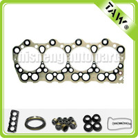 Metal head cover material cylinder head gasket diesel engine gasket for Mitsubishi 4D33