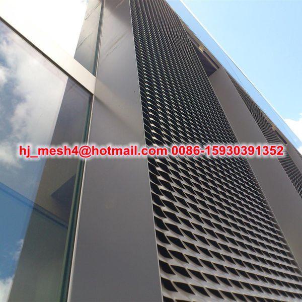 Alluminio lamiera stirata facciate for Rete stirata prezzo