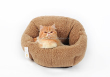 Luxury Cat Houses Soft Indoor Cat Puppy Bed Warm House