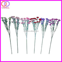 cheap wholesale the 5 branches artificial carnation flower in stock