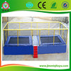 CE Standard High quality combined bungee jumping trampoline with safe net for sale