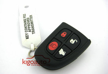 Flip Remote key fob 4 button 315Mhz for Jaguar S X type NHVWB1U241 remote key fob