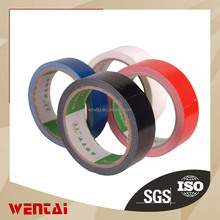 leak proof colorful insulation easy tear off clith base adhesive tape