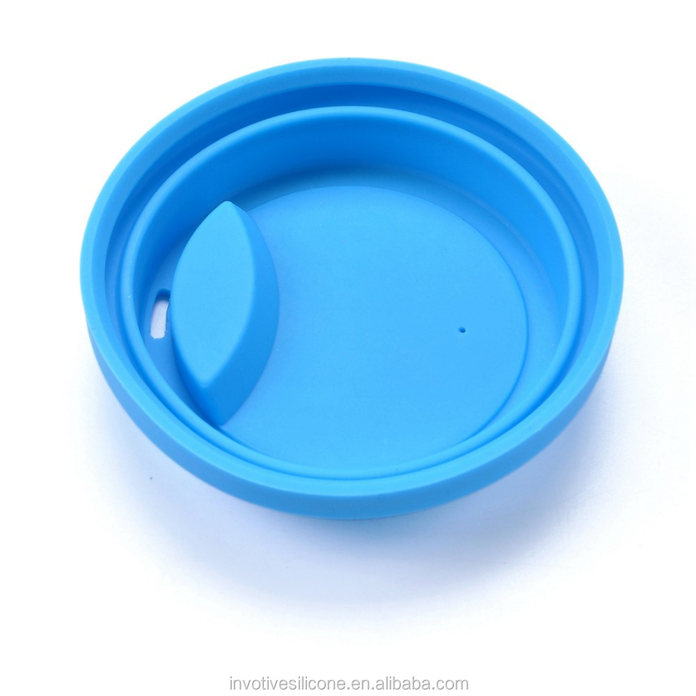 silicone coffee cup lids glass mug with lids