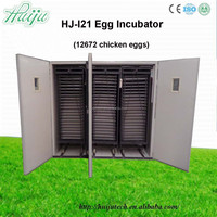 farm machinery 12672 eggs incubator hatching chicken,duck with full automatic egg incubator