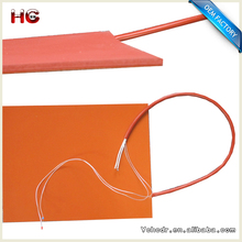 Heat Bed 3D Printer 12 volt 24 volt 110 volt 100w Heating Element 100mm x 100mm Silicone Heater with 100k Thermistor