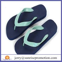 Gentlemen dark blue 100 rubber flip flops