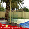 cheap tempered glass fence panels,glass pool fence spigot