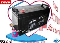 High quality hot PA-100 models lead acid battery for UPS deep cycle working