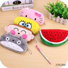 Hot Selling Cute Cartoon Animal Shaped Plush Pencil Case For Kids