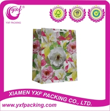 2015 Hot Sale paper laminated promotional shopping bag