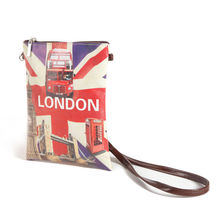 custom printed pu single crossbody bag with long strap