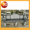 outdoor stone long advertising bench and chair with cheap sale