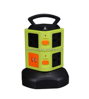 Two layers of vertical with a collection of multi function universal socket 8 universal socket with two USB 2.1A interface with