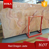 Red dragon jade red marble