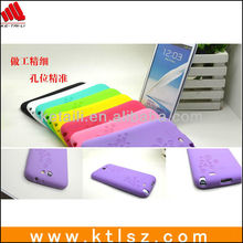 Shenzhen Silicone cell phone case for samsung note ii N7100