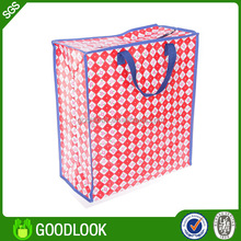 factory fast shipping pp woven shopping tote bopp laminated pp woven bag GL108