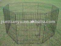 Black Exercise Dog Pens