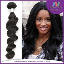 ali express wholesale cambodian loose human hair