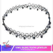 Hot new products 2015 Choker Tattoo Stretch Necklace