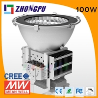 Factory direct Sale New Cooling Technology Aluminum Cover 100W LED High Bay
