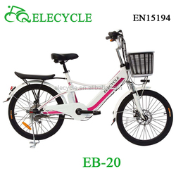 city electric bike lady electric bicycle 250W48V LED light chinese e-bike EB20