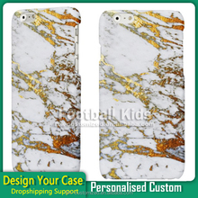 Gold Marble phone cover for custom printed phone case for iPhone 6 6s 6splus