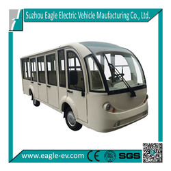 Electric minibus, closed bus, EG6158KF, 14 seats, CE certificate