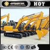 XCMG 15T hydraulic excavator swamp excavator XE150 small scale model excavator