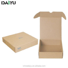 Corrugated cardboard OEM brown recyclable storage box moving box shipping box with ISO9001