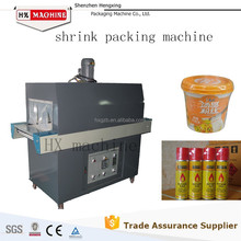 Bottle shrink wrapping machine, shrink machine, shrink packing machine