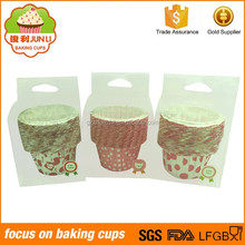 Customized Roll Mouth Muffin Cups Cupcake Paper Baking Cups