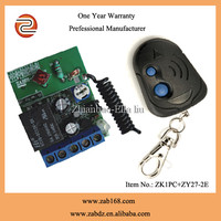 good performance wireless RF 12v remote relay control for home auto appliance (ZK1PC+ ZY27-2E)