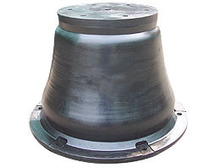marine dock rubber fender cone type with CSS PIANC BV