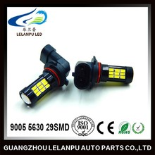 high power auto led lamp 9006 5630 29SMD led light lens led auto driving light