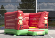 BOUNCY CASTLE MINI FIRE TRUCK OPEN/ jumping trampoline inflatable bungee baby bouncer